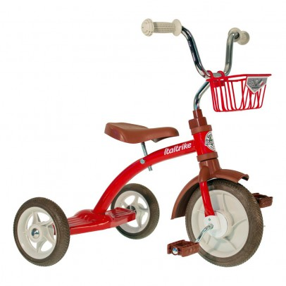 Italtrike Tricycle avec panier-listing