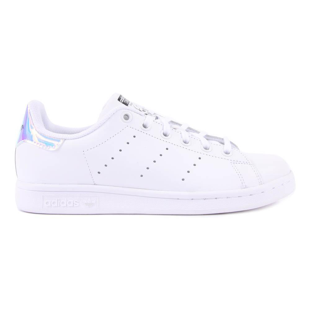 iridescente stan smith ha corretto le scarpe bianche le adidas teen,