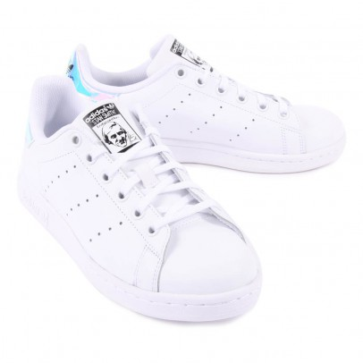 Adidas Baskets Lacets Cuir Irisé Stan Smith-listing