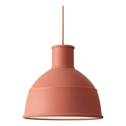 Muuto Unfold ceiling lamp - Terracotta -product