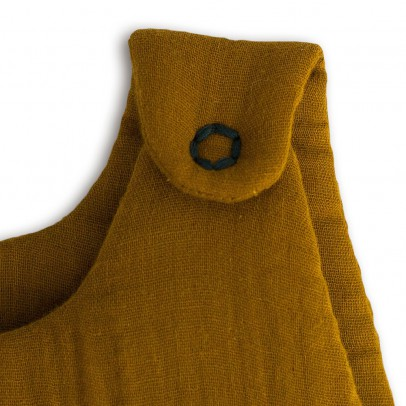 Numero 74 Baby sleeping bag - mustard yellow-listing