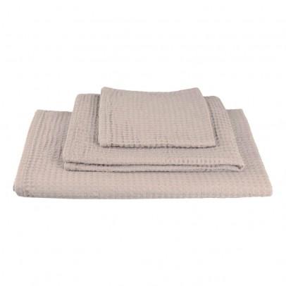 Set da 3 asciugamani da bagno in nido dape - Polvere