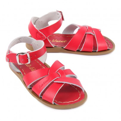 Salt-Water Original Leather Cross Strapped Waterproof Sandals-listing