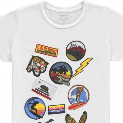 Californian Vintage T-Shirt Patchs-listing