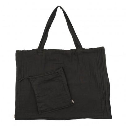 Numero 74 Cotton shopping bag and envelope - Anthracite Gray-listing