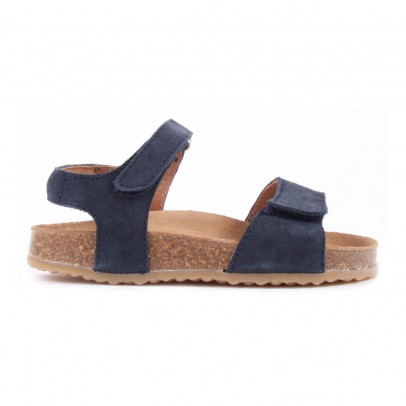 Pèpè TWO CON ME Suede Double Velcro Sandals-listing