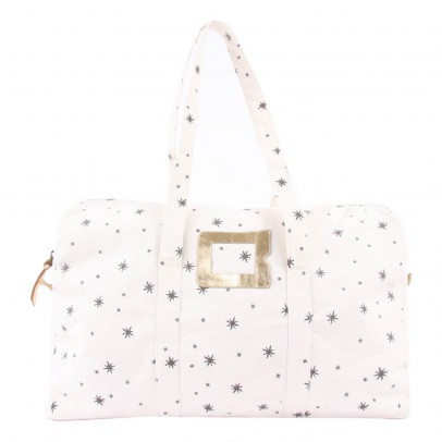 Polder Girl Ecru 48H Weekend Bag - Grey Stars-listing