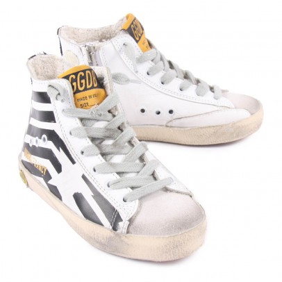 Golden Goose Deluxe Brand Francy Zip-Up High Top Sneakers-listing