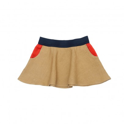 Paade Mode Golden Two-Toned Skirt-listing