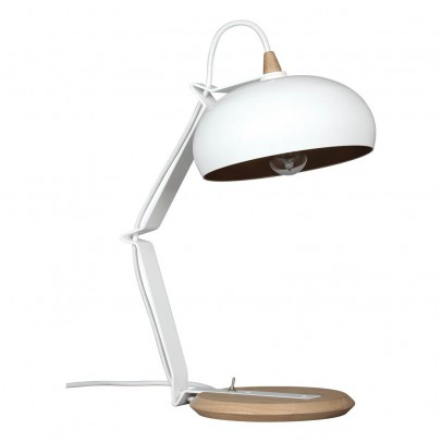 Lampari Rhoda table lamps - Oak color and metal -listing