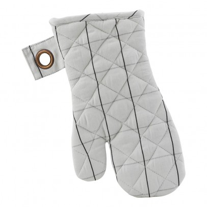House Doctor Checked Oven Gloves - Set of 2-listing