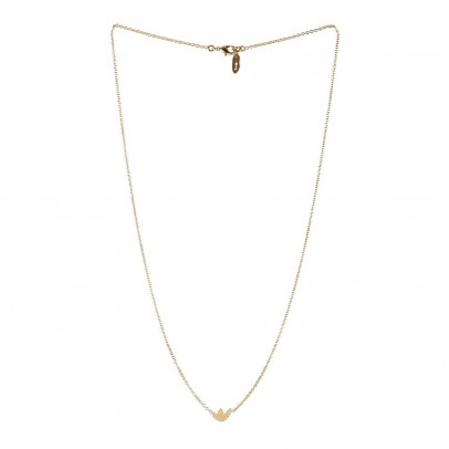 Titlee Gold-Plated Brass Flatbush Necklace-listing