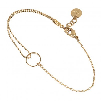 Titlee Gold-Plated Brass Adjustable Midtown Bracelet-listing