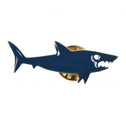 Titlee Nelson Shark Lapel Pin-listing
