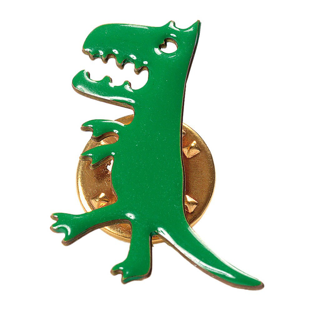 Pin's Laiton Doré Or Fin Dinosaure Herbert-product