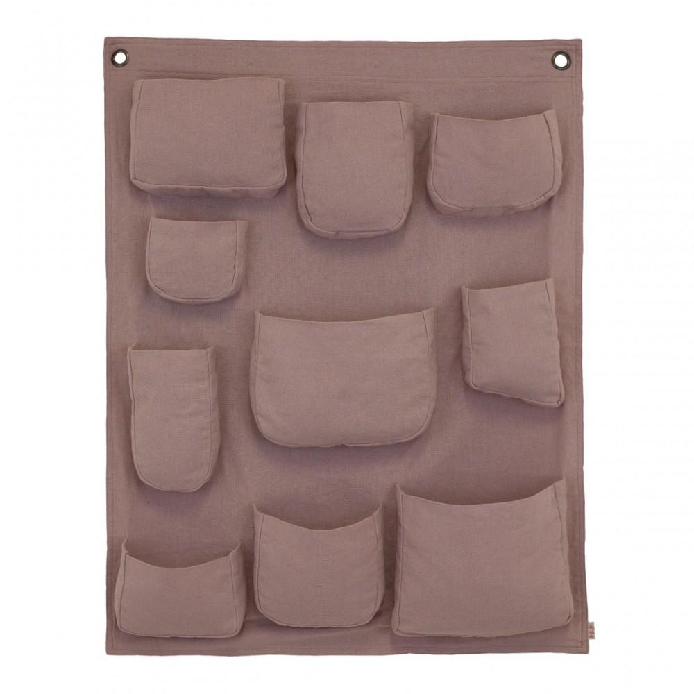 Portaoggetti da parete dusty pink s007 numero 74 design - Portaoggetti da parete ...