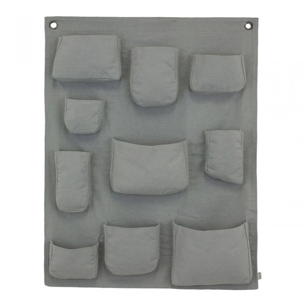 Portaoggetti da parete silver grey s019 numero 74 design - Portaoggetti da parete ikea ...