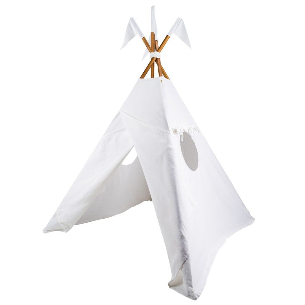 tipi en coton white s001 numero 74 jouet et loisir enfant. Black Bedroom Furniture Sets. Home Design Ideas