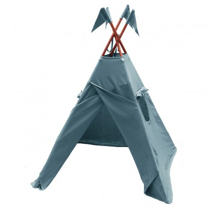 Numero 74 Cotton teepee - blue grey-listing