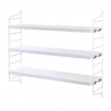 product-String Furniture 'Pocket' shelf unit - white