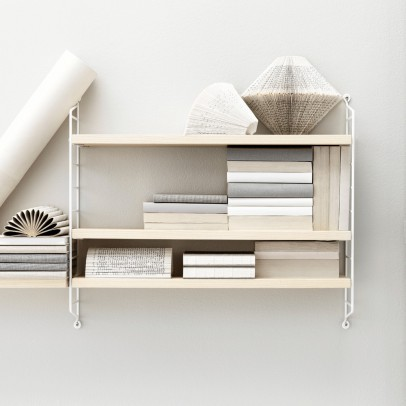 String Furniture 'Pocket' shelf unit - birch-listing