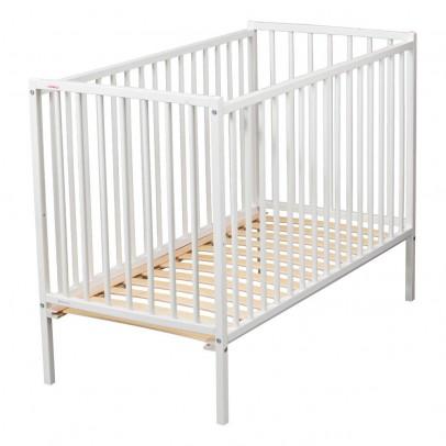 lit barreaux volutif trendy 70x140 cm blanc quax design. Black Bedroom Furniture Sets. Home Design Ideas