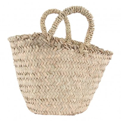Smallable Home Children's Woven Palm Leaf Basket-listing