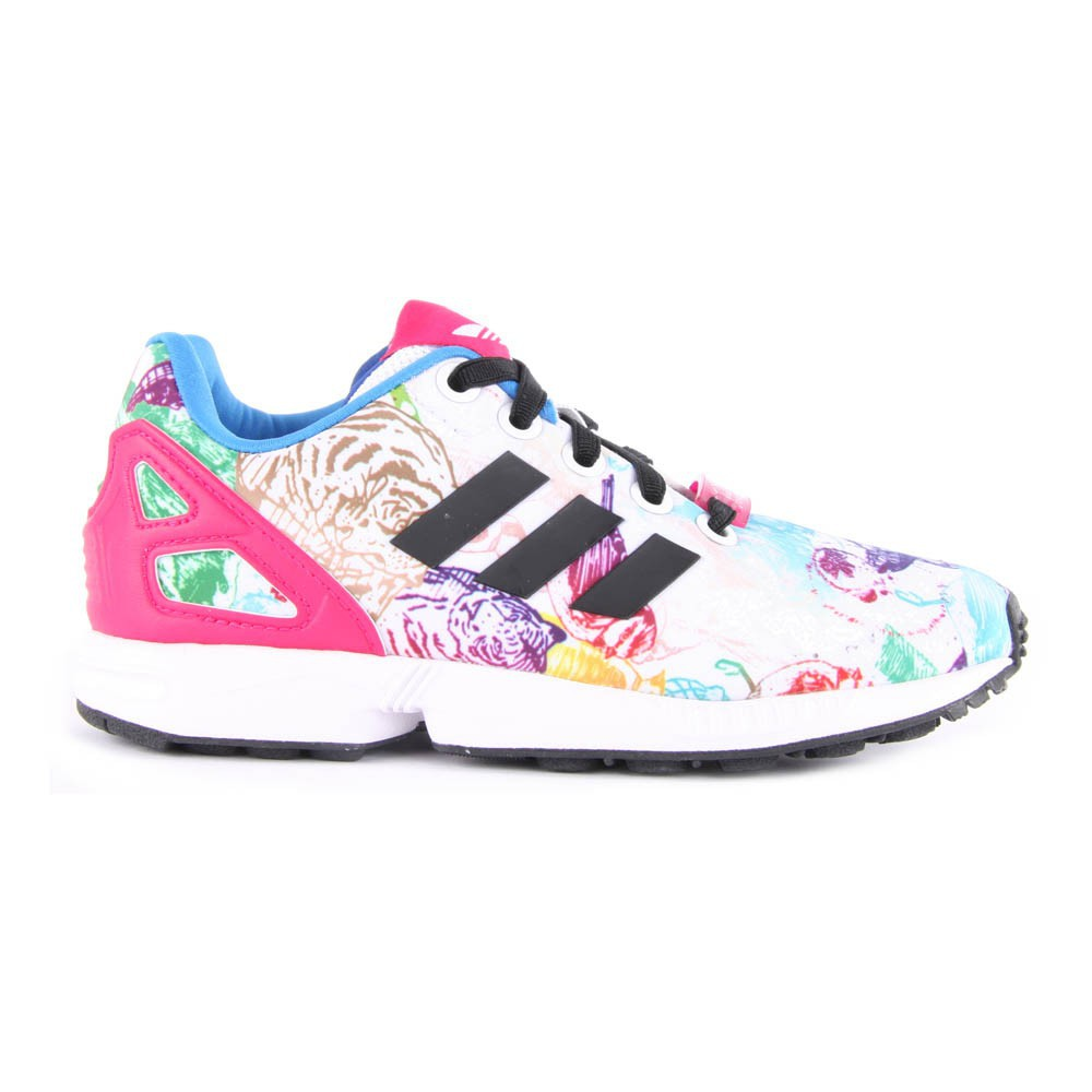 adidas Men's Size 12m Multi Colored ZX Flux Running SNEAKERS