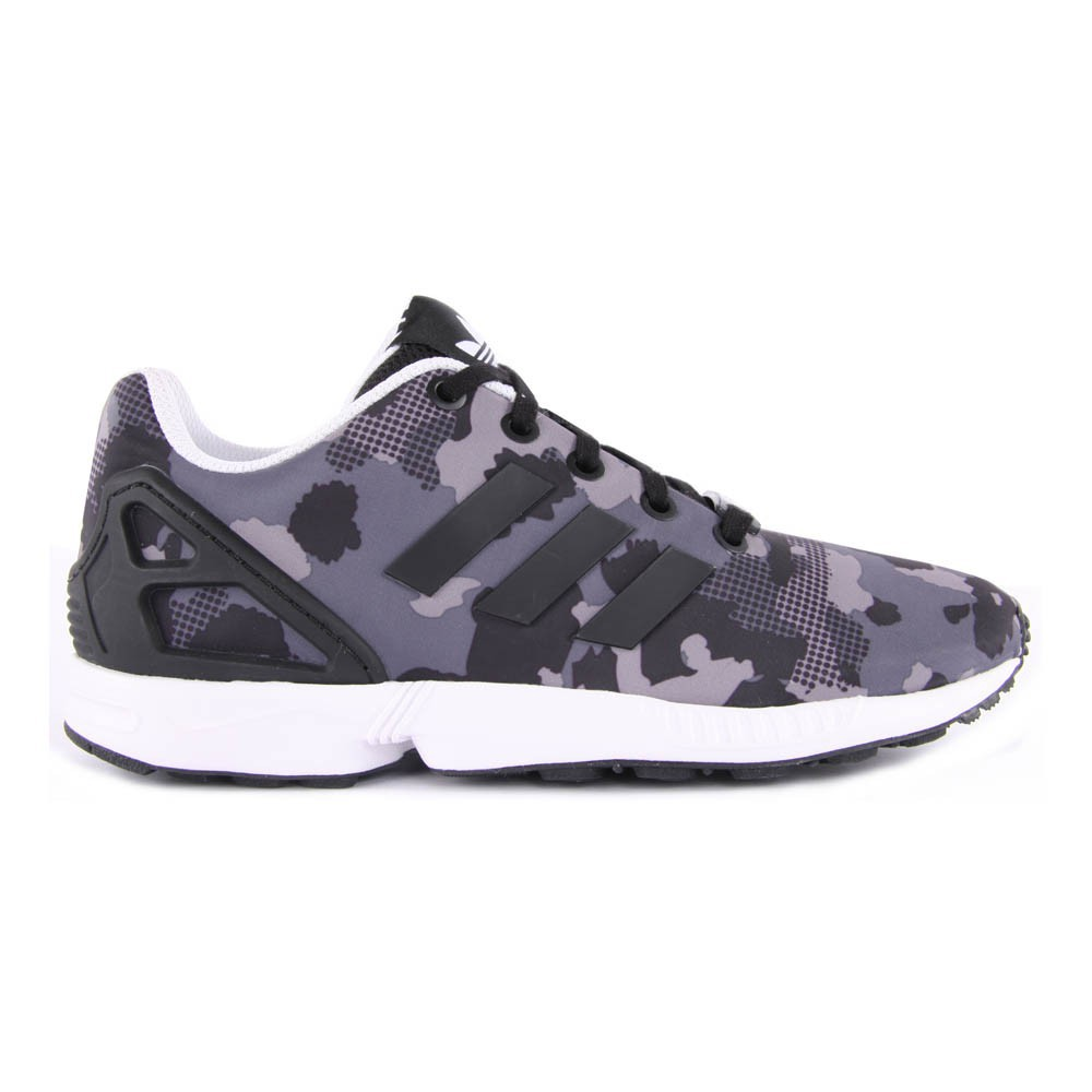 adida zx flux gris