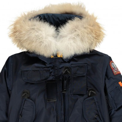 Parajumpers Faux Fur Hooded Gobi Boy Bomber Jacket-listing