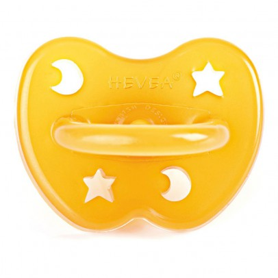 Hevea Star and Moon Large Orthodontic Natural Rubber Dummy-product