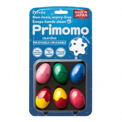 Primomo Washable Crayon Eggs - Set of 6-listing