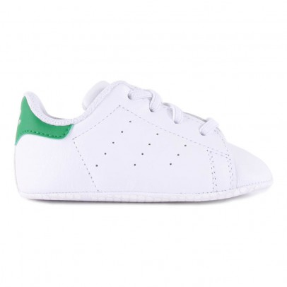 Adidas Lace-Up Stan Smith Crib Shoes-listing