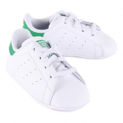 Adidas Chaussons Lacets Cuir Stan Smith Crib-listing