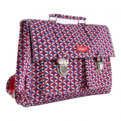 Bakker made with love Schultasche Mini mit Trageriemen aus Canvas Bintang -listing
