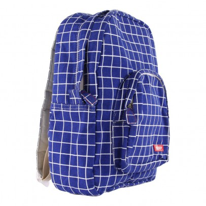 Bakker made with love Kotak Medium Check Canvas Backpack-listing