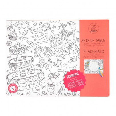 Omy Fantastic Colouring Placemat-listing