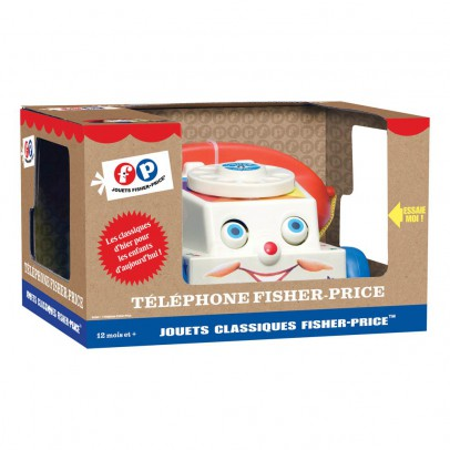 Fisher Price Vintage Telephone - Vintage Remake-product