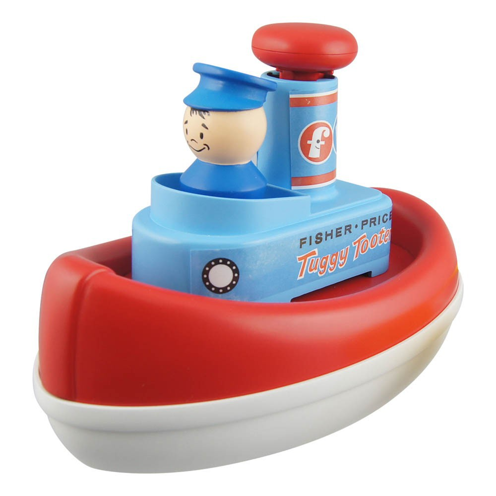 Tut Tut Boat - Vintage Remake Multicoloured Fisher Price Vintage