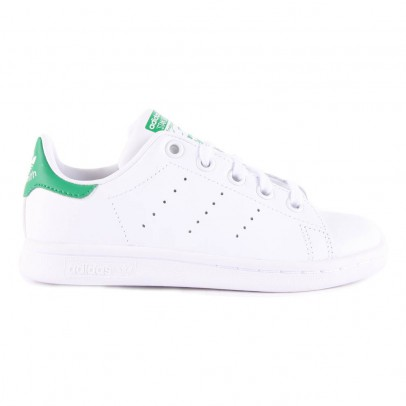Adidas Leather Elastic Lace Stan Smith Green Trainers-listing