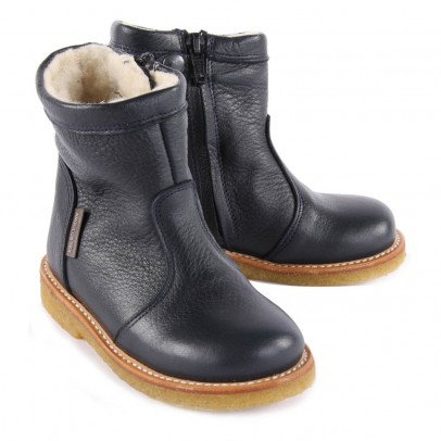 Angulus Tex Lined Leather Boots with Zip-listing