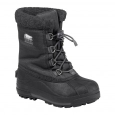 product-Sorel Fur-Lined Waterproof Youth Cumberland Boots
