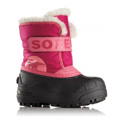 Sorel Fur-Lined Nylon Snow Commander Boots-listing