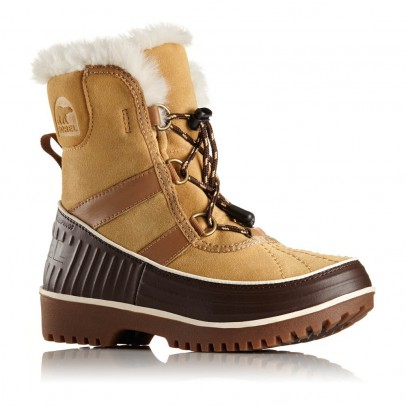 Sorel Fur-Lined Waterproof Leather Youth Tivoli Boots-listing