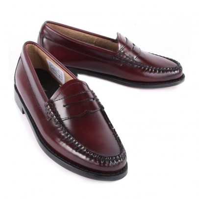 G.H. BASS & CO. Leather Penny Moccasins-listing
