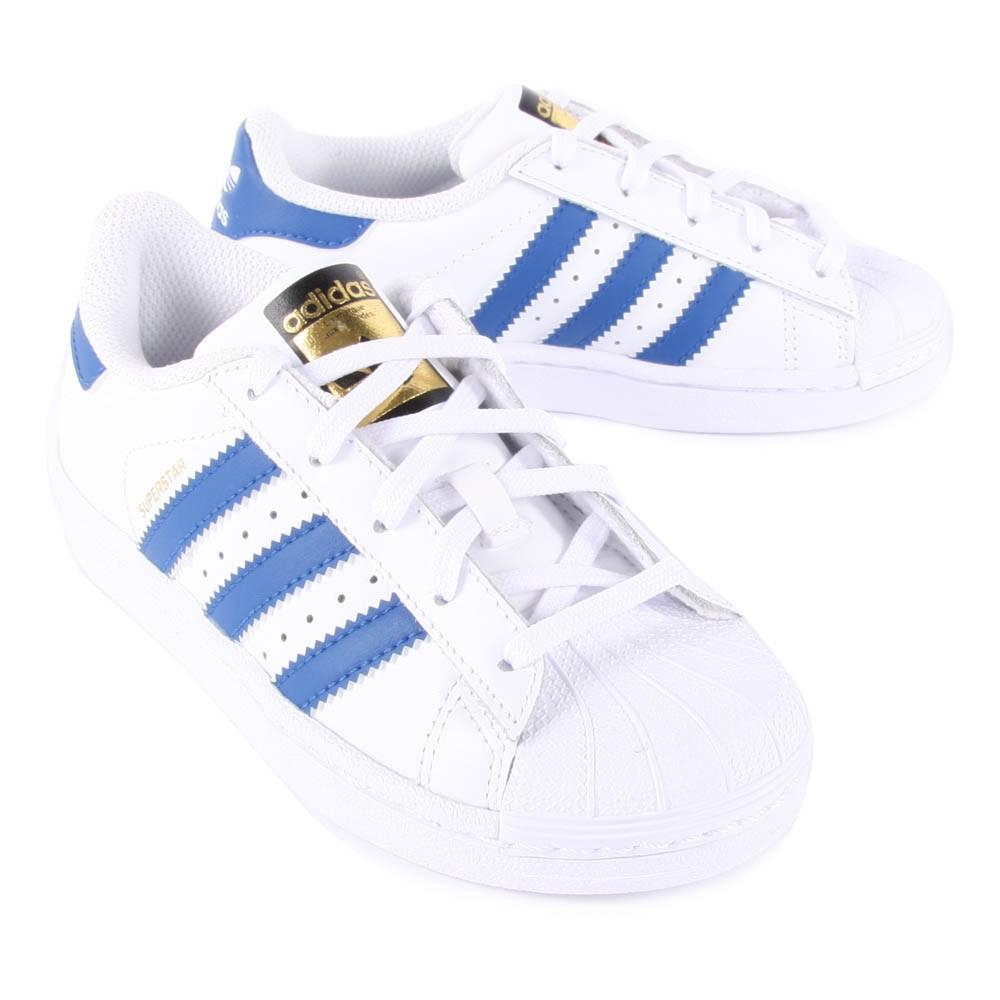 superstar bleu et blanc