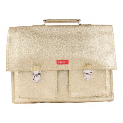 Bakker made with love Glitter Big Satchel with Strap-product