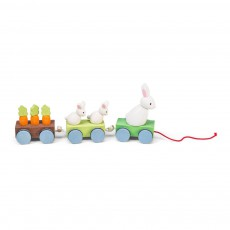 product-Le Toy Van Le train de la famille lapin