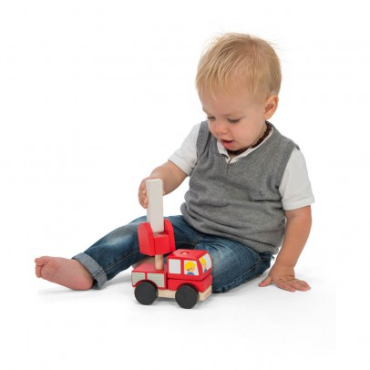 Le Toy Van Stackable Fire Engine-listing