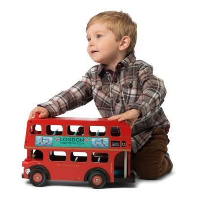 Le Toy Van Bus de Londres et son conducteur-listing